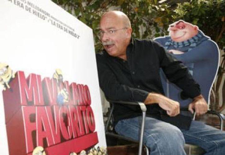 Andrés Bustamante es una estrella en dos de las cintas de animación más importantes de este año. (milenio.com)