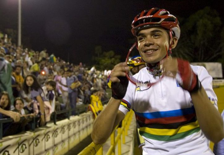 Fabio duarte,  excampeón mundial de ruta sub'23, es una de las las principales figuras de esta formación. (Foto: EFE)