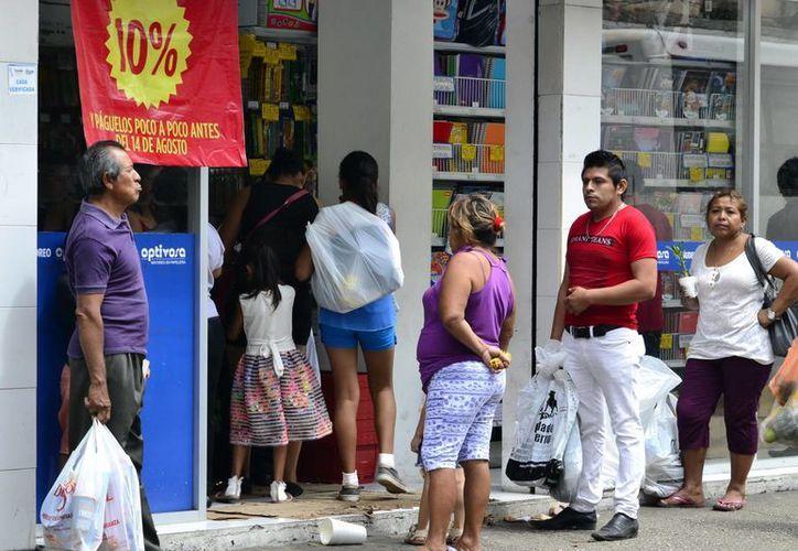 Las compras de útiles escolares dejarán este año una derrama de 750 mdp, según la Canacome. (Milenio Novedades)