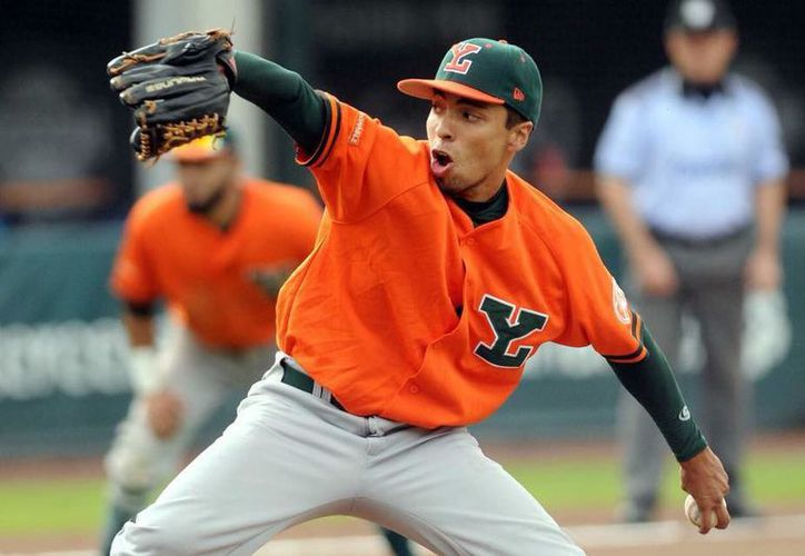 Ricardo Rivero podría participar en la venidera temporada de la Liga Mexicana de Béisbol. (Fotos: Raúl Caballero/SIPSE)