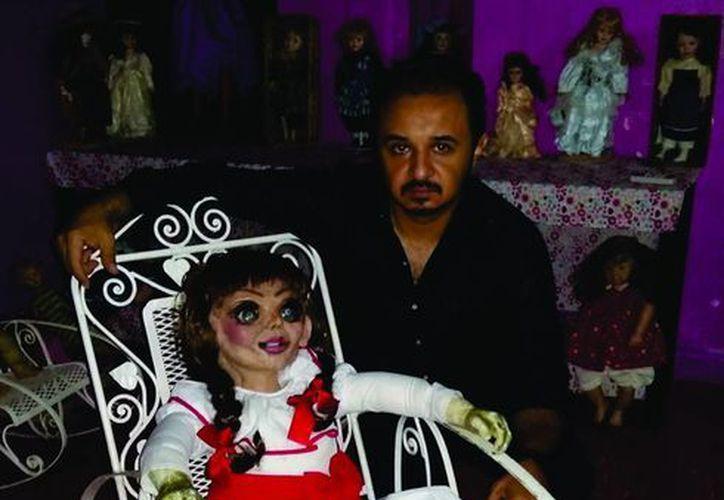 Esta es la nueva muñeca que ha llegado al Museo Paranormal de Mérida. (Jorge Moreno/SIPSE)