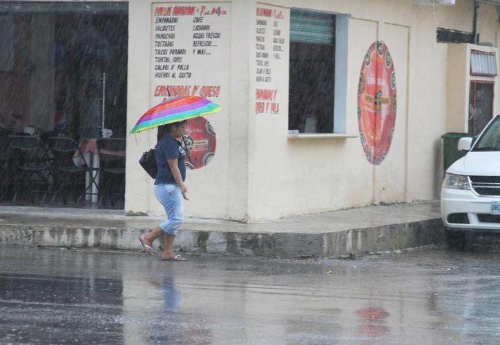 Las precipitaciones que se registraron durante el fin de semana provocarán que disminuya la temperatura dentro de la ciudad. (María Mauricio/SIPSE)
