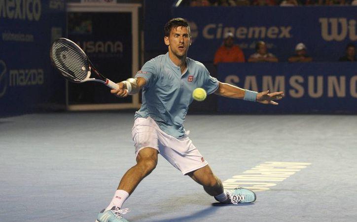 Nova Djokovic sufrió demasiado para poder eliminar a Juan Martín del Potro, en el duelo de los octavos del Abierto Mexicano.(Jam media)
