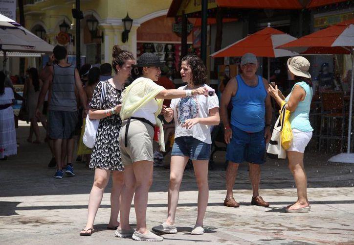 Estados Unidos y Canadá son los principales mercados turísticos de Cancún. (Consuelo Javier/SIPSE)
