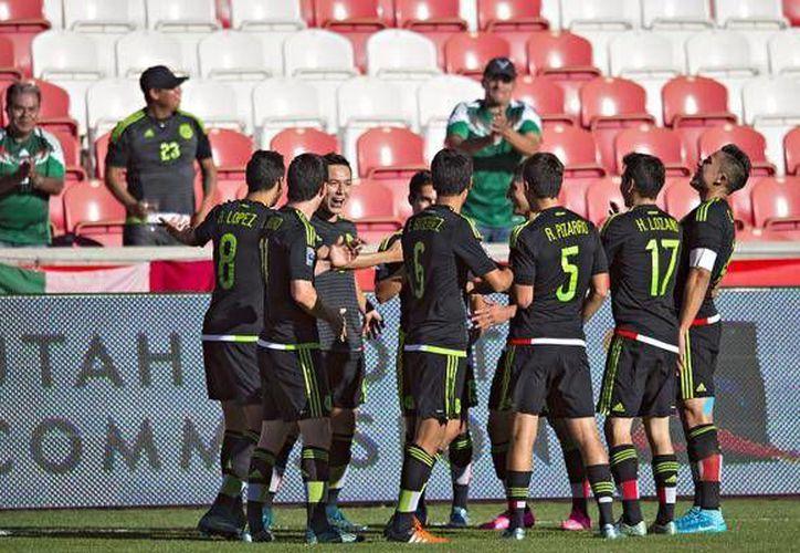 México ganó, mantuvo el invicto en el preolímpico y calificó a Rio 2016. (Foto: Femexfut)