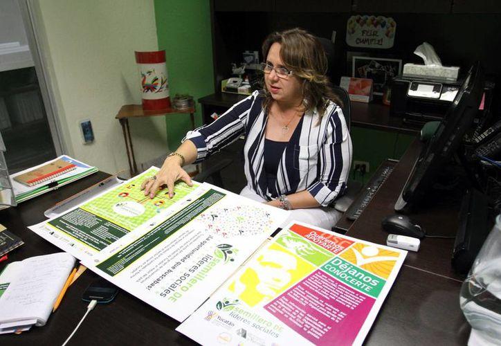 Bertha Alicia Rosado Rodríguez, directora de la Japey, declaró que el Premio Filantrópico 2015 se entregará este lunes. (César González/SIPSE)
