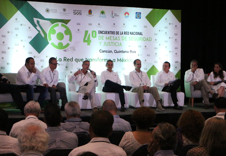 En Cancún se reunieron representantes de seguridad de 18 estados para plantear soluciones en la prevención del delito. (Paola Chiomante/SIPSE)