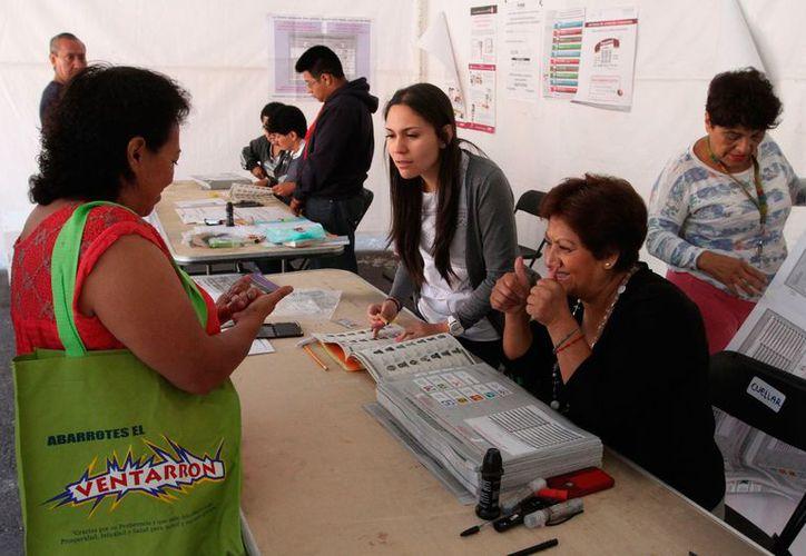 El proceso dará mayor certeza sobre quienes van a contar los votos. (El Horizonte)