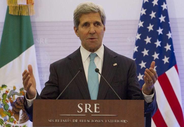 Kerry aseguró que el gobierno del presidente Obama está muy interesado en impulsar la reforma migratoria. (Notimex)