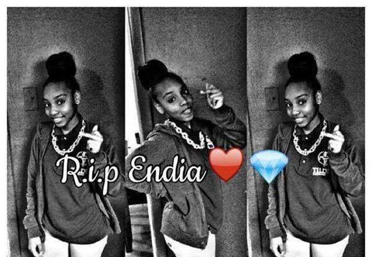 La identidad de la menor que quitó la vida a Endia Martin -en la imagen-, no fue revelada por ser menor de edad. (heavy.com)