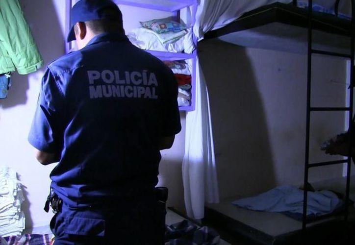 Ayer durante la madrugada se realizó un operativo sorpresa a los internos de la cárcel municipal.  (Redacción/SIPSE)