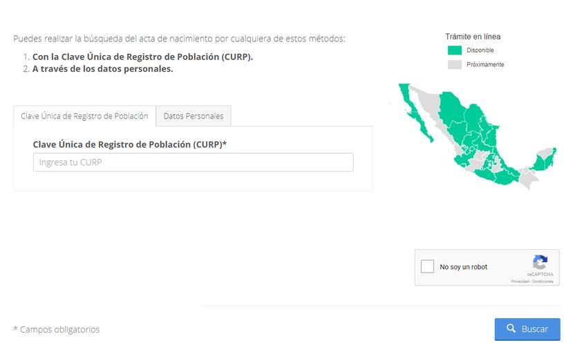 Cómo obtener el Acta de Nacimiento sin filas?   Novedades Quintana Roo