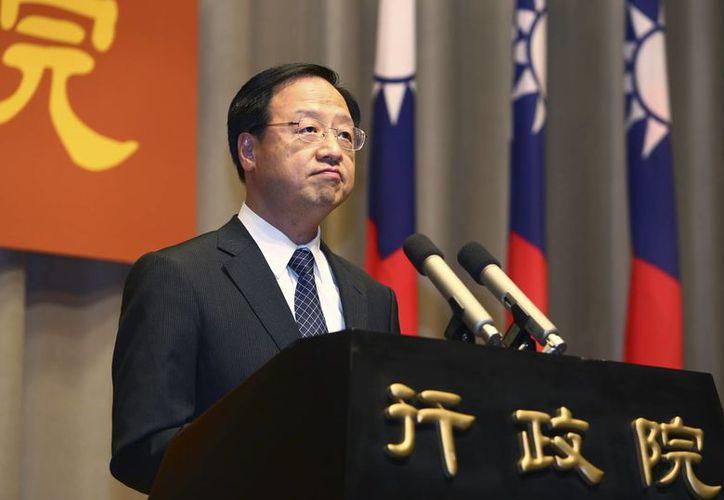 El partido Kuomintang al que representaba Jiang Yi-huah (foto) solo ganó seis de las 22 alcaldías que se decidían en los comicios de Taiwán. (Foto: AP)