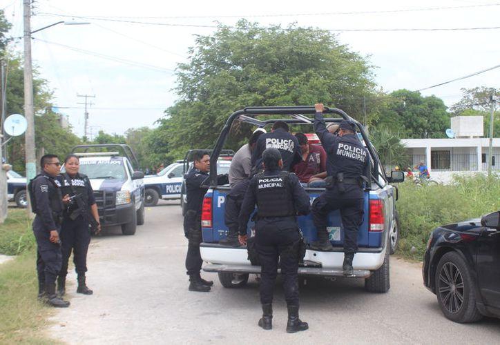 """Los presuntos secuestradores, aseguran ser integrantes de un """"centro de rehabilitación"""" a donde llevaban al jóven. (Foto: Redacción/SIPSE)"""