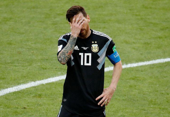 Tras el fracaso en el Mundial, Lionel Messi no ha querido vestir la camiseta de la selección. (Internet)