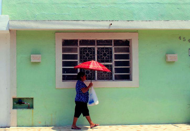 Yucatán está que arde: la sensación térmica de los últimos día ha estado por arriba de los 40 grados Celsius. La de este sábado fue ligeramente menor: 39.2. (SIPSE)