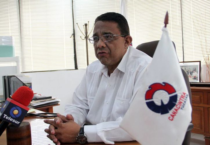 """""""solicitamos de manera urgente que Pemex realice los pagos de manera inmediata, de lo contrario estas empresas pudieran declararse en quiebra ante la falta de liquidez"""", aseguró Mario Can Marín, presidente de la Canacintra, aseguró. (Milenio Novedades)"""