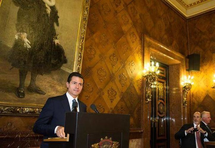 Peña Nieto mantendrá reuniones con destacadas personalidades danesas, entre ellas la reina Margarita II. (Presidencia)