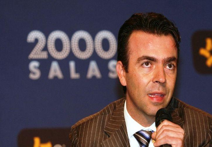 Alejandro Ramírez fue entrevistado al término de la Reunión Anual 2012 del Centro Mexicano para la Filantropía. (Nelly Salas/MILENIO)