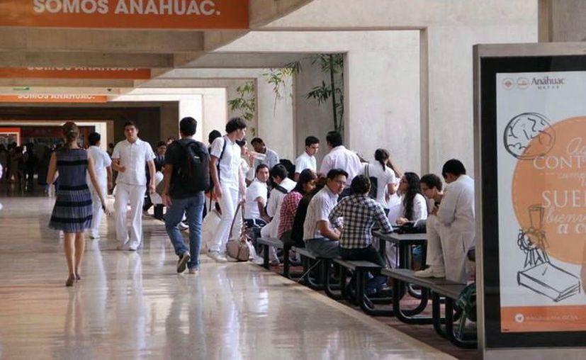 La Universidad Anáhuac-Mayab recaba recursos mediante el Fonatón. (Novedades Yucatán)
