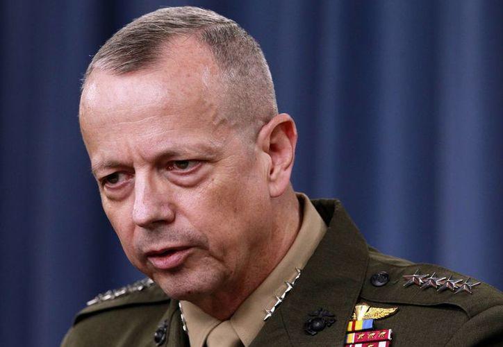 El general John Allen en imagen de archivo. (Agencias)