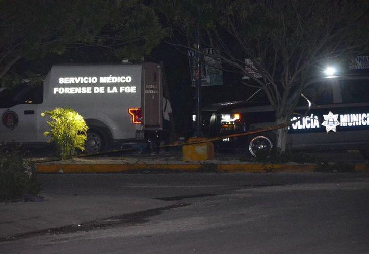 Las dos personas fueron ejecutadas en la madrugada del pasado miércoles. (Eric Galindo/SIPSE)