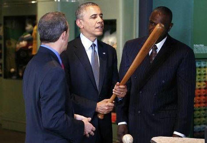 Barack Obama acudirá al encuentro entre Rays y Cuba que se celebrará el próximo 22 de marzo.(Foto tomada de Milenio Digital)