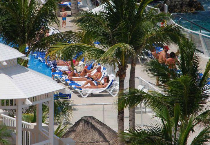 Los hoteles de la Isla de las Golondrinas registraron más de 63% de ocupación el mes pasado. (Gustavo Villegas/SIPSE)