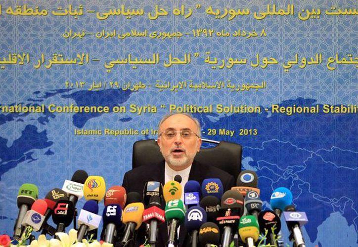 Ali-Akbar Salehi dijo que la energía nuclear será útil para temas de comercio. (EFE/Archivo)