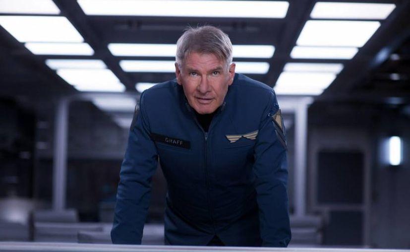 """""""Ender's Games"""" supone el regreso de Ford al espacio exterior 30 años después de su última aparición en """"Star Wars"""". (EFE)"""