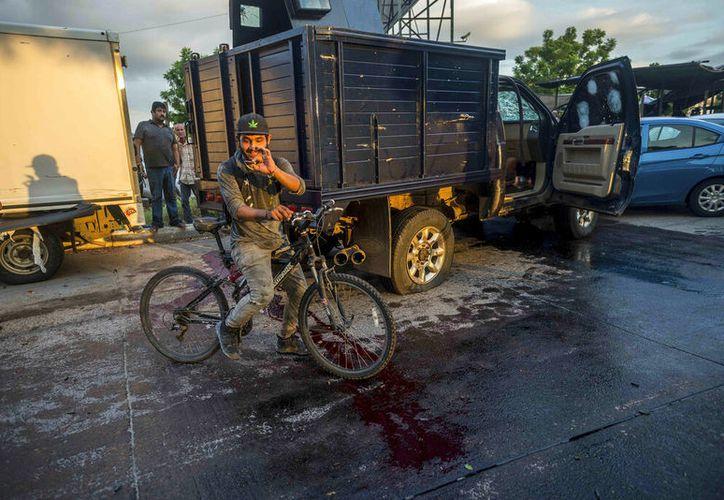 (AP/Augusto Zurita)