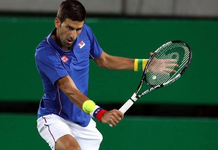 Novak Djokovic es una de las grandes figuras que estarán presentes en el Abierto Mexicano de Tenis 2017. (mexsport.com)