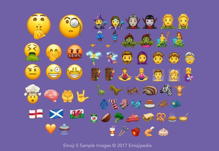 Estos son algunos de los nuevos emojis lanzados por Unicode. (Emojipedia).