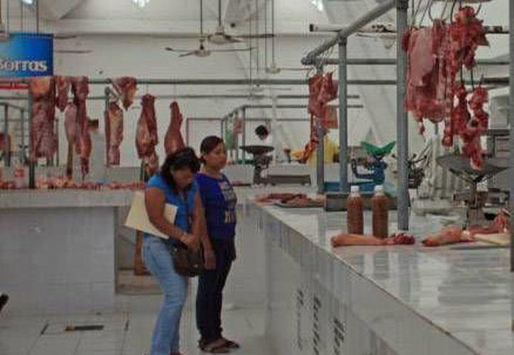Adquieren carne hasta 120 personas a una sola carnicería en un día. (Archivo/SIPSE)
