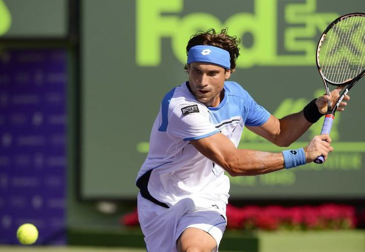 Ferrer alcanzó la semifinal de Miami por tercera ocasión en su carrera. (EFE)