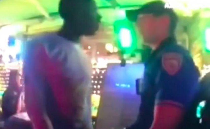 Poitier fue atendido por los paramédicos y llevado al Centro Médico Mount Sinai. (Foto: Captura del video)