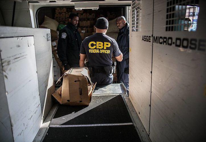 La CBP estimó el valor de la droga en 200 mil dólares. (cbp.gov)