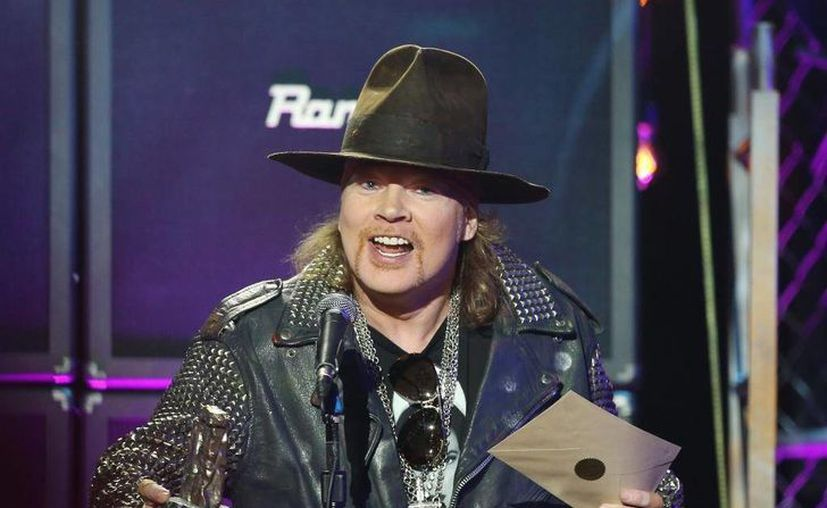 Hace unos días surgieron los rumores sobre la participación de Axl Rose como vocalista de AC/DC. (AP)