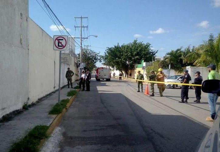 Protocolo que siguen las autoridades ante la presencia de un artefacto explosivo en Cancún. (Eric Galindo/SIPSE)