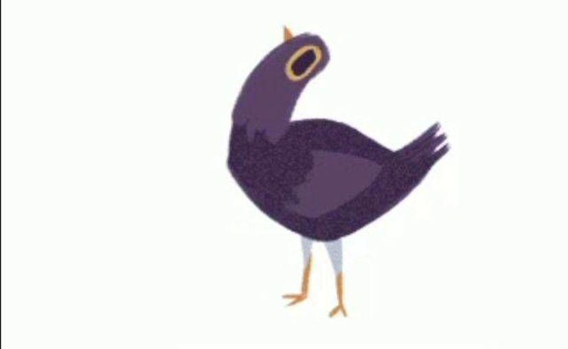 Los usuarios de Facebook han comenzado a utilizar a 'La paloma morada' para comentar las publicaciones de los usuarios de la famosa red social.(Captura pantalla/Facebook)