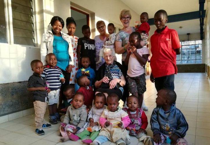 La abuelita realizó donaciones al recinto durante un tiempo. (Facebook)
