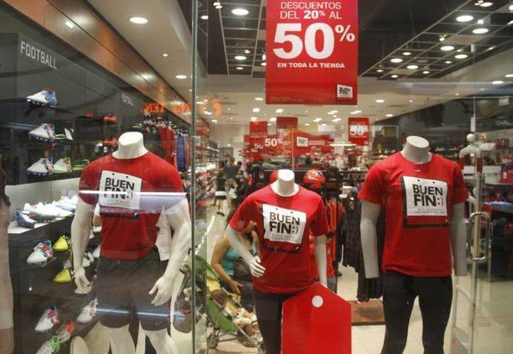 Hasta el momento se registraron más de cinco mil establecimientos para participar en la campaña de El Buen Fin donde promocionarán grandes descuentos. (Archivo/SIPSE)