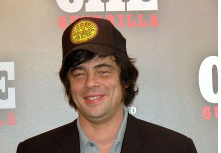 El filme que estelarizará Benicio del Toro fue escrito por el actor italiano Andrea di Stefano. (Agencia Reforma)