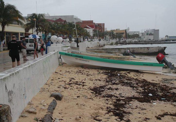 Prestadores de servicios náuticos reportaron una baja en turistas. (Julián Miranda/SIPSE)
