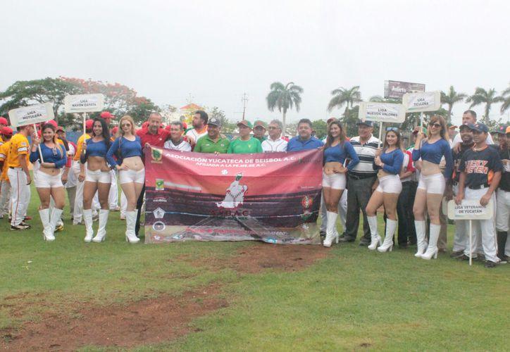 Este sábado se inició la edición de I edición del Clásico Yucateco de Beisbol de Ligas, con 12 equipos. (Marco Moreno/SIPSE)