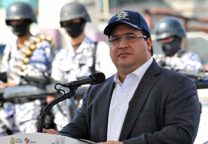 El Gobernador de Veracruz dijo que actuará contra policías no confiables. (Archivo/Notimex)
