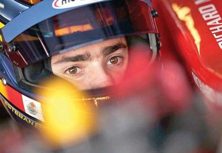 Esteban Gutiérrez ha sacado de su discurso el nombre de su actual equipo en la Fórmula 1 para el regreso de la máxima categoría a México en 2015. (excelsior.com/Foto de archivo)