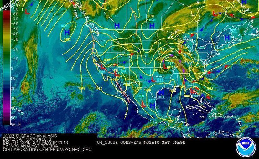 Soplarán vientos variables de 20 a 40 km/h con rachas de 55 km/h. (Cortesía/SIPSE)