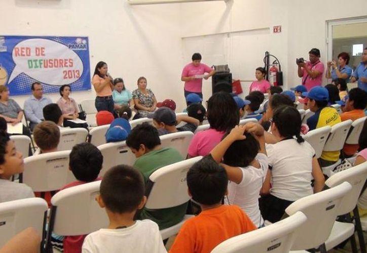 En el evento participaron 50 menores y padres de familia. (Redacción/SIPSE)