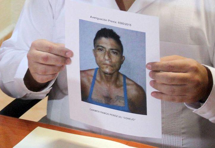 Presunto asesino Carmen Ramos. (Sergio Orozco/SIPSE)